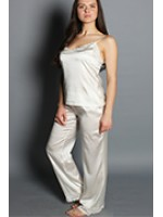 Женские шелковые пижамы больших размеров