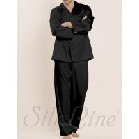 Пижама рубашка и штаны SL-34 (Черный) р.М