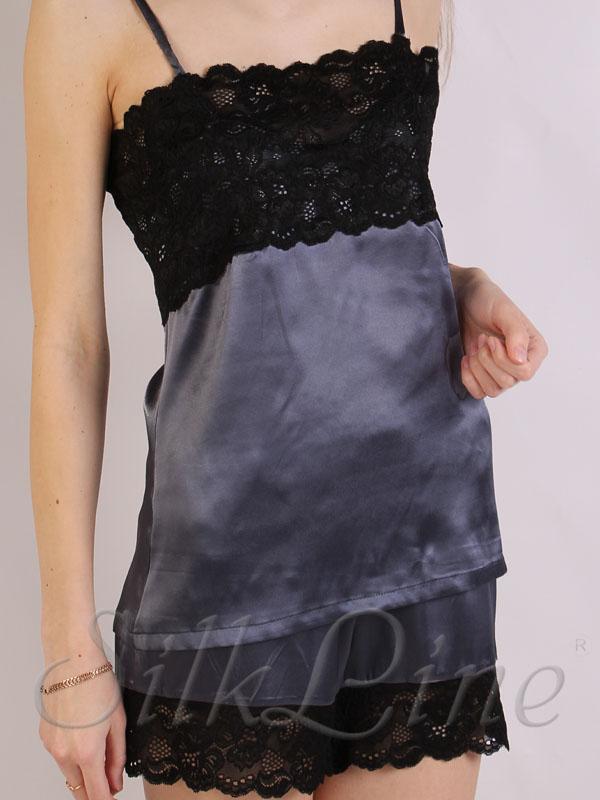 ecc76fa7e357f41 Женская пижама из натурального шелка недорого арт.: SL1707