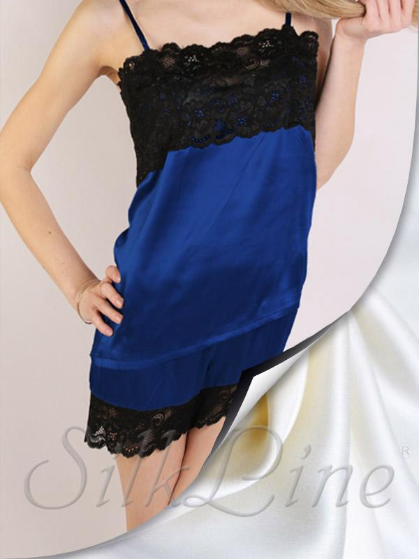 Жіноча піжама з натурального шовку недорого арт .  SL1702 823a0b834210f