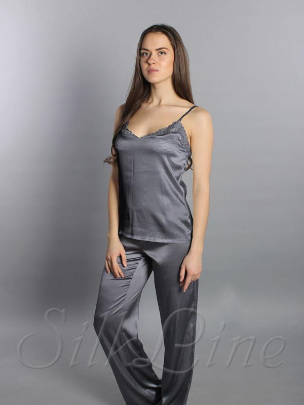 Купить шелковую пижаму с доставкой по Киеву и Украине арт. SL1807 23368abbaf127