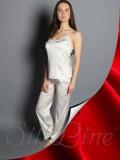 Пижама майка и штаны SL-18 (Красный)