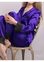 Пижама рубашка и штаны SL-19 (Аметист) р.М