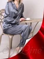 Пижама рубашка и штаны SL-19 (Красный)