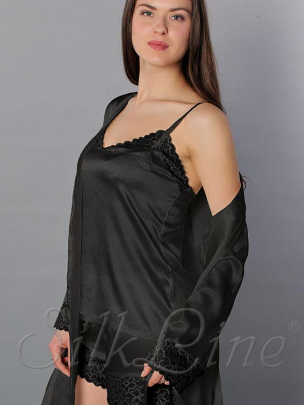 Купити шовкові піжами великих розмірів з доставкою. Арт .  SL2301 8de33878a425d