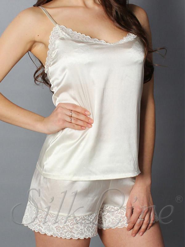 Купити шовкові піжами великих розмірів з доставкою. Арт .  SL2302 e4b23cb138989