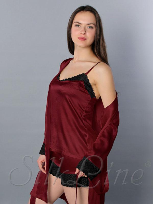 f3fec5913974184 Купить шелковые пижамы больших размеров с доставкой. Арт.: SL2305