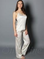 Піжама майка і штани SL-24 (Кремовий)