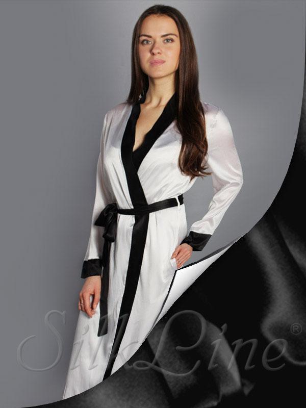Шелковый халат купить в Киеве и Украине 9c6b7d56220de