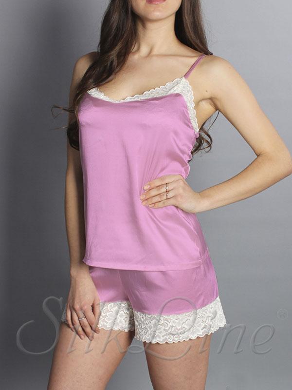 Пижама шорты и майка SL-15 (Кашемировая роза)