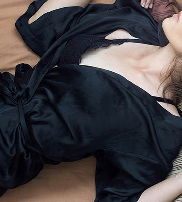 Женские халаты шелковые