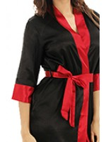 Женские шелковые халаты больших размеров