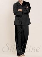 Пижама рубашка и штаны SL-34 (Черный)