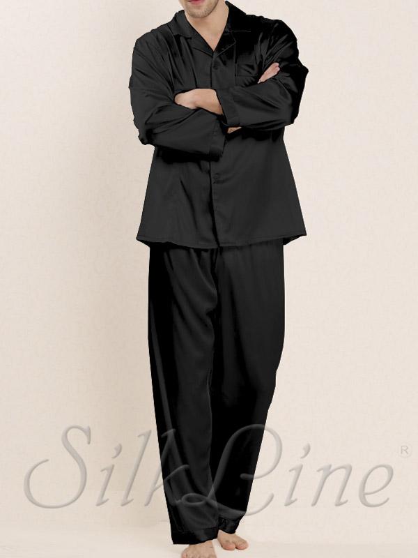 Чоловіча піжама шовкова SL-34