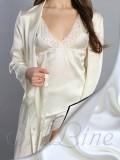 Піжама шорти і майка SL-16 (Білий)