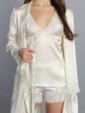 Піжама шорти і майка SL-16 (Кремовий)