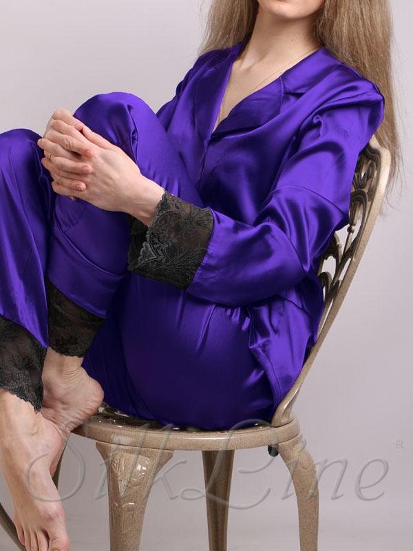Піжама рубашка і штани SL-19 (Аметист)