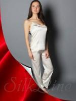 Пижама майка и штаны SL-24 (Красный)